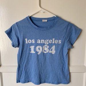 brandy melville los angeles 1984 top